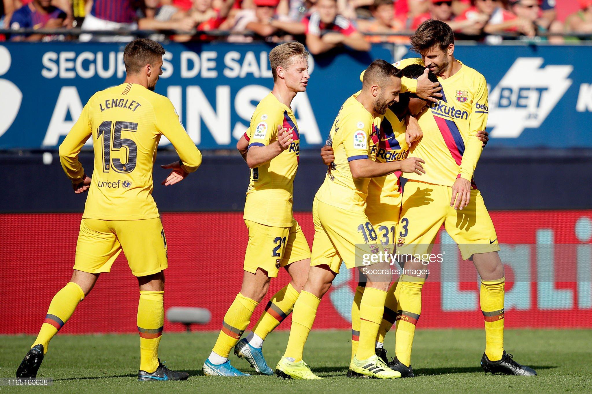 صور مباراة : أوساسونا - برشلونة 2-2 ( 31-08-2019 )  Ansu-fati-of-fc-barcelona-celebrates-with-clement-lenglet-of-fc-de-picture-id1165160638?s=2048x2048