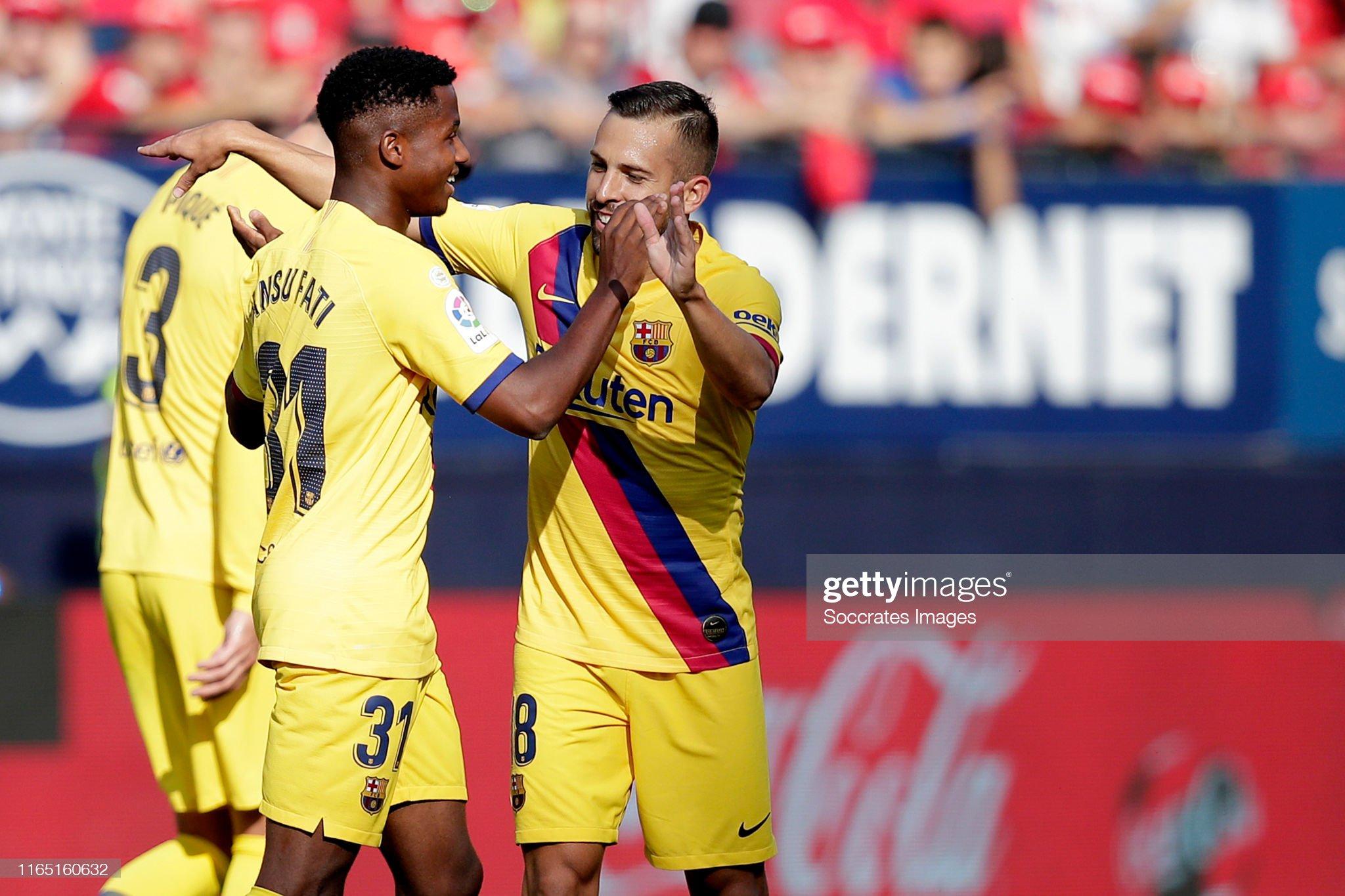 صور مباراة : أوساسونا - برشلونة 2-2 ( 31-08-2019 )  Ansu-fati-of-fc-barcelona-celebrates-with-jordi-alba-of-fc-barcelona-picture-id1165160632?s=2048x2048