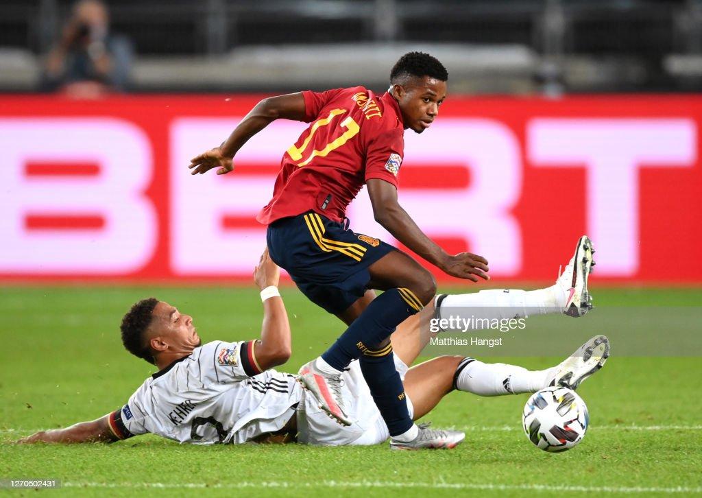 Germany v Spain - UEFA Nations League : News Photo