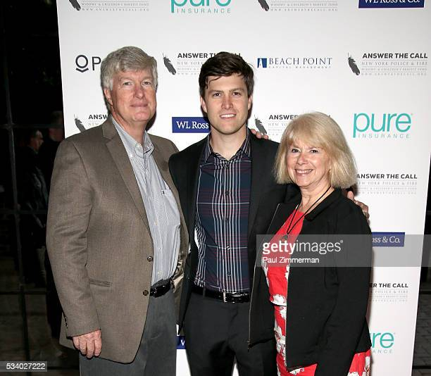 Answer the Call Kick off to Summer Daniel A Jost Colin Jost and Kerry Kelly pose at the 4th annual New York Police and Fire Widows Children's Benefit...