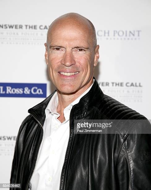 Answer the Call Kick off to Summer Honorary Chair and former NHL player Mark Messier poses at the 4th annual New York Police and Fire Widows...