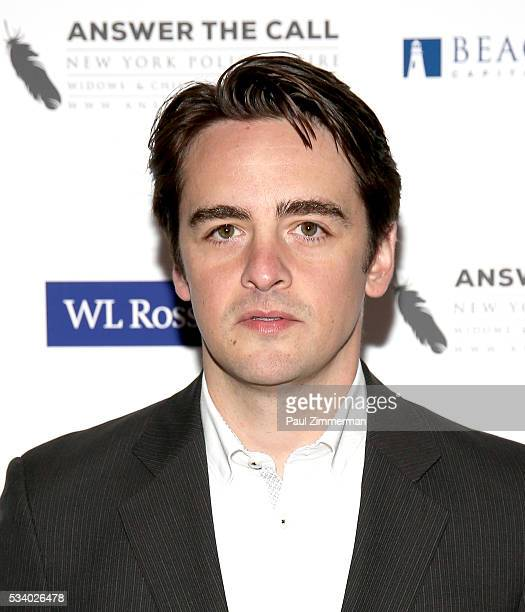 Answer the Call Kick off to Summer Honorary Chair/actor Vincent Piazza poses at the 4th annual New York Police and Fire Widows Children's Benefit...