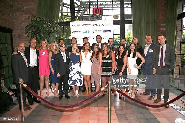 Answer the Call Kick off to Summer Host committee members pose at the 4th annual New York Police and Fire Widows Children's Benefit Kick off to...