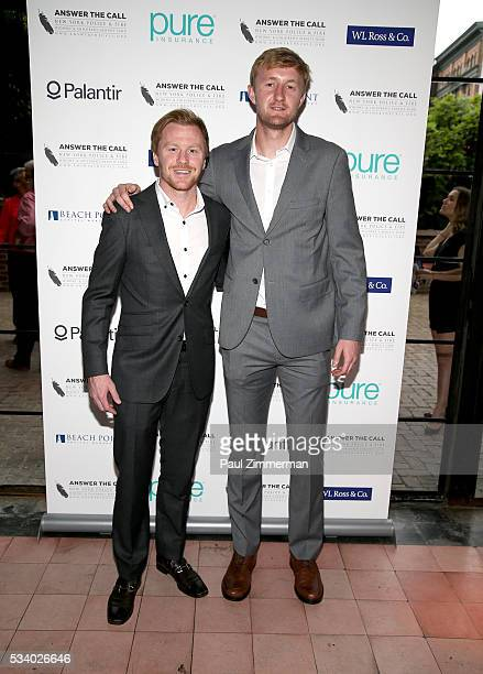 Answer the Call Kick off to Summer MLS Red Bulls Captain Dax McCarty and Honorary chair/MLS Red Bulls player Ryan Meara pose at the 4th annual New...