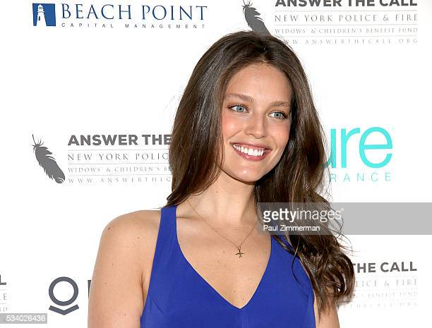 Answer the Call Kick off to Summer Model Emily DiDonato poses at the 4th annual New York Police and Fire Widows Children's Benefit Kick off to Summer...