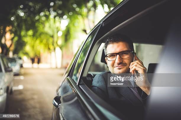 Beantworten Sie im Auto
