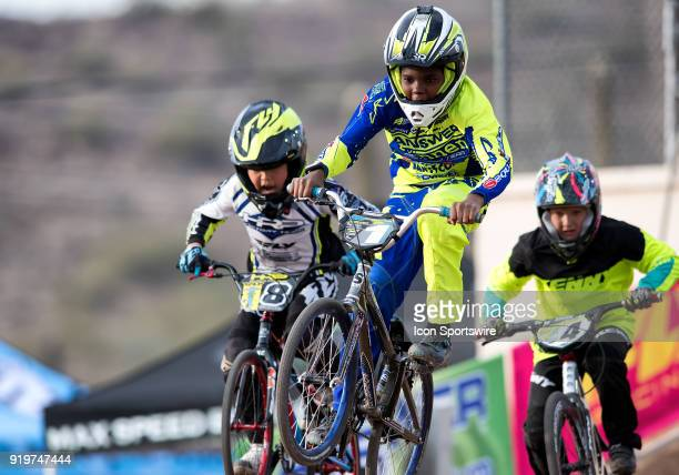 Answer/Rennen's Marshall Gehrke finished third in the 11 Expert class during the USA BMX Winter Nationals on February 17 at Black Mountain BMX in...