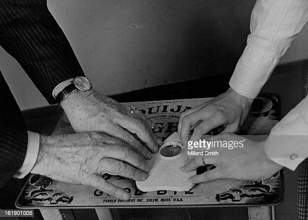 APR 3 1972 MAY 1 1972 MAY 14 1972 Answers on the Ouija board make for a lively meeting Bob Dodson speaker also presents history of board