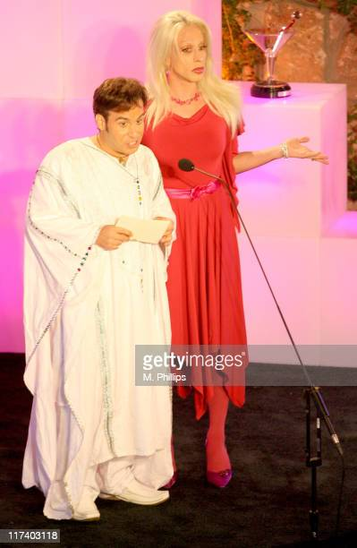 Ant and Alexis Arquette during Fox Reality Presents 'The Reality Remix Really Awards' Show at Les Deux in Hollywood California United States