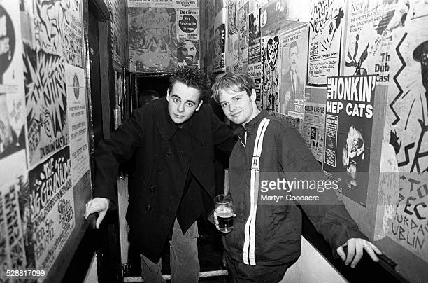 Ant and Dec at the Dublin Castle pub and gig venue Camden Town London United Kingdom 1994