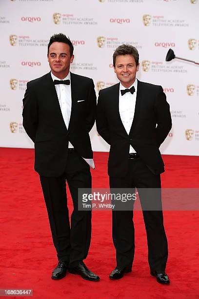 Ant and Dec attend the Arqiva British Academy Television Awards 2013 at the Royal Festival Hall on May 12 2013 in London England