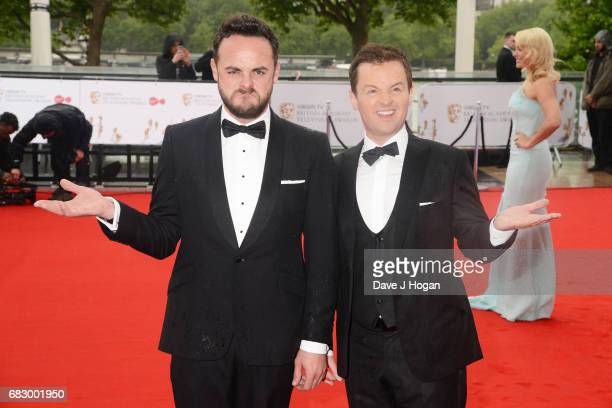 Ant and Dec attend the Virgin TV BAFTA Television Awards at The Royal Festival Hall on May 14 2017 in London England