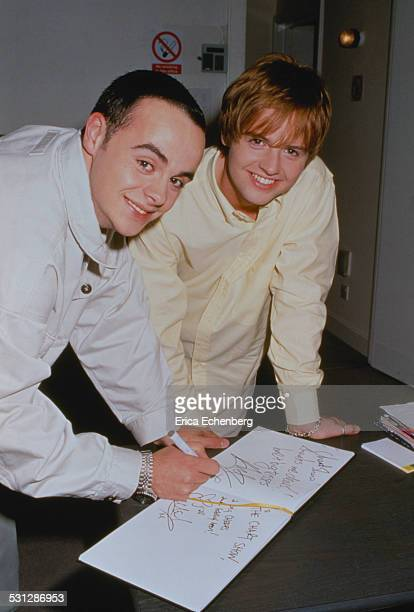 Ant and Dec Harwood Studio Fulham London 1996