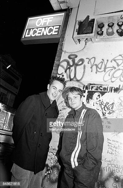 Ant and Dec LR Anthony McPartlin and Declan Donnelly Camden London United Kingdom 1994