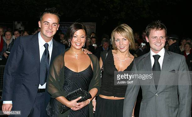 Ant Dec Attend The 2002 National Television Awards At London'S Royal Albert Hall