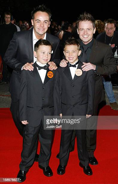 Ant Dec Attend The 2003 National Television Awards At London'S Royal Albert Hall