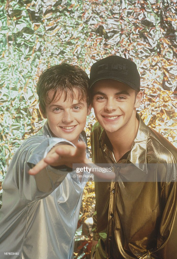 Ant & Dec (Anthony McPartlin and Declan Donnelly), circa 1995.