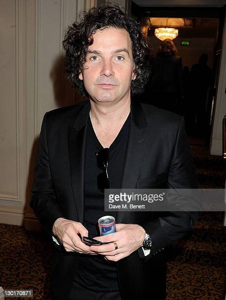 Ant Genn arrives at The Q Awards 2011 at The Grosvenor House Hotel on October 24 2011 in London England