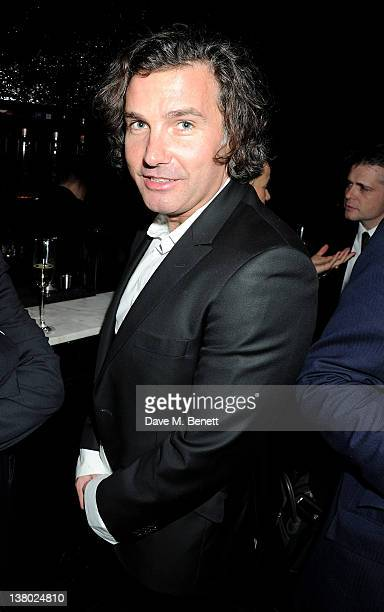 Ant Genn attends the Motilocom Party to celebrate the month of 'Love' at Le Baron At Embassy on January 31 2012 in London England