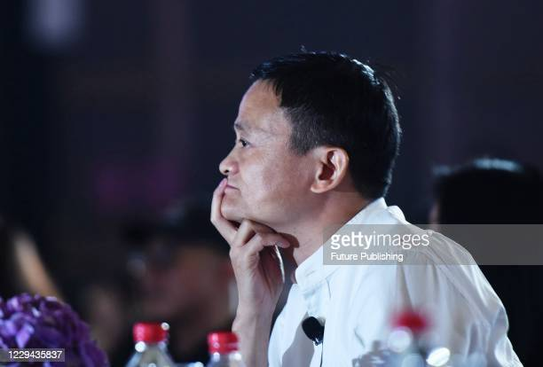 Ant Group founder Jack Ma attends the 2017 Global Women Entrepreneurs Conference. Hangzhou city, Zhejiang Province, China, July 10, 2017. On November...