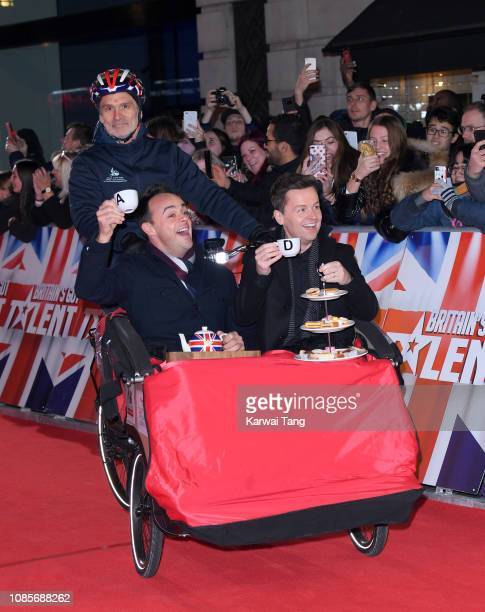 Ant McPartlin and Declan Donnelly arrive at the Britain's Got Talent 2019 photocall at London Palladium on January 20 2019 in London England