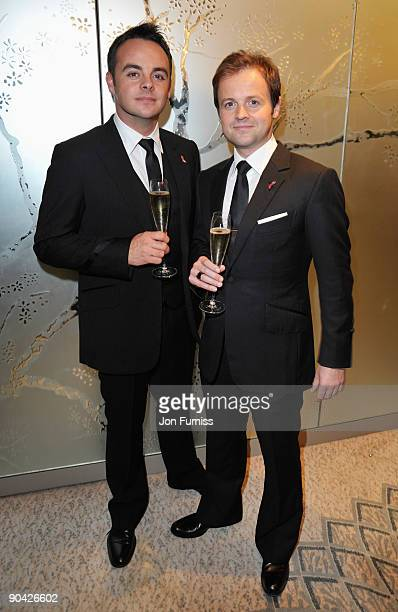 Ant McPartlin and Declan Donnelly attend the TV Quick TV Choice Awards at The Dorchester on September 7 2009 in London England