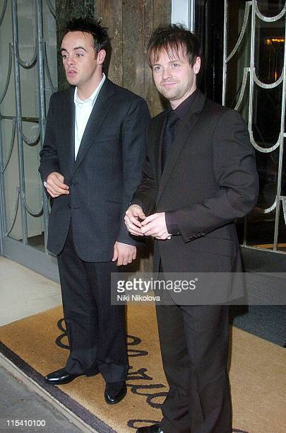 Ant McPartlin and Declan Donnelly *Exclusive Coverage*