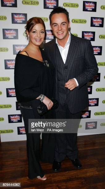 Ant McPartlin and his girlfriend Lisa Armstrong