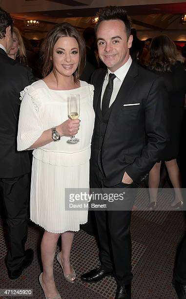 Ant McPartlin and Lisa Armstrong attend the British Academy Television Craft Awards at The Brewery on April 26 2015 in London England