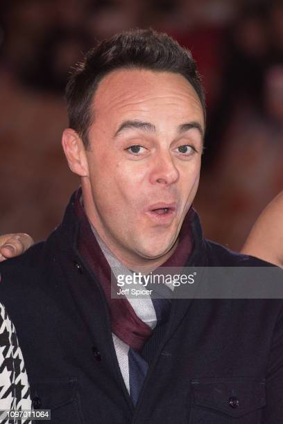 Ant McPartlin arrives at the Britain's Got Talent 2019 auditions held at London Palladium on January 20 2019 in London England