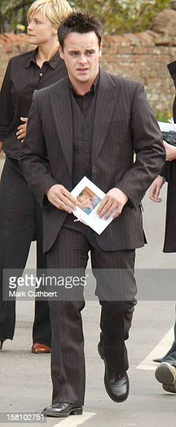 Ant Mcpartlin Attends The Funeral Of Caron Keating At Herver Castle In Kent