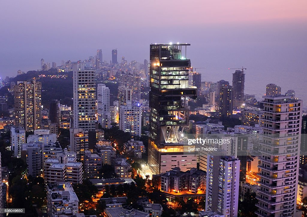 Antalia Building In Mumbai The Most Expensive House In The World