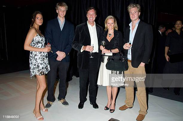 Antalya Nall-Cain, William Nall-Cain, Lord Brocket, Lady Brocket and Alex Nall-Cain