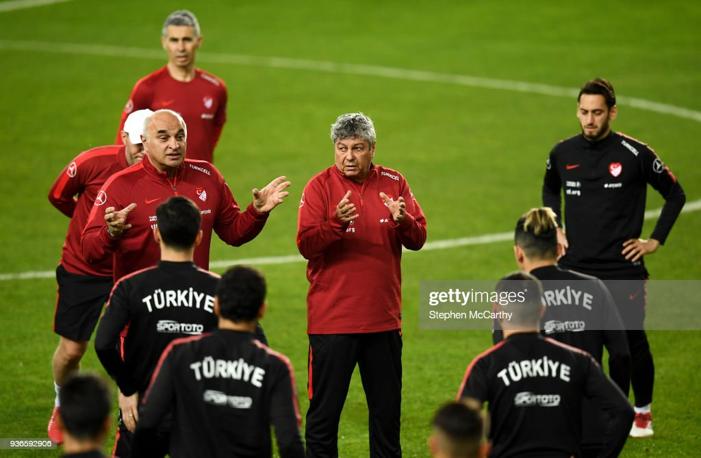 Turkey Training & Press Conference