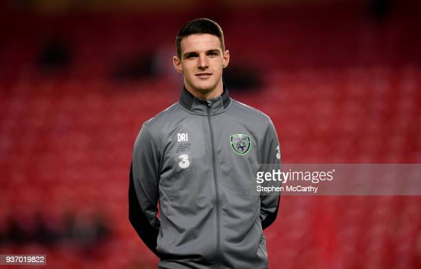 Antalya Turkey 23 March 2018 Declan Rice of Republic of Ireland prior to the International Friendly match between Turkey and Republic of Ireland at...