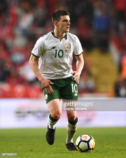 Antalya Turkey 23 March 2018 Declan Rice of Republic of Ireland during the International Friendly match between Turkey and Republic of Ireland at...