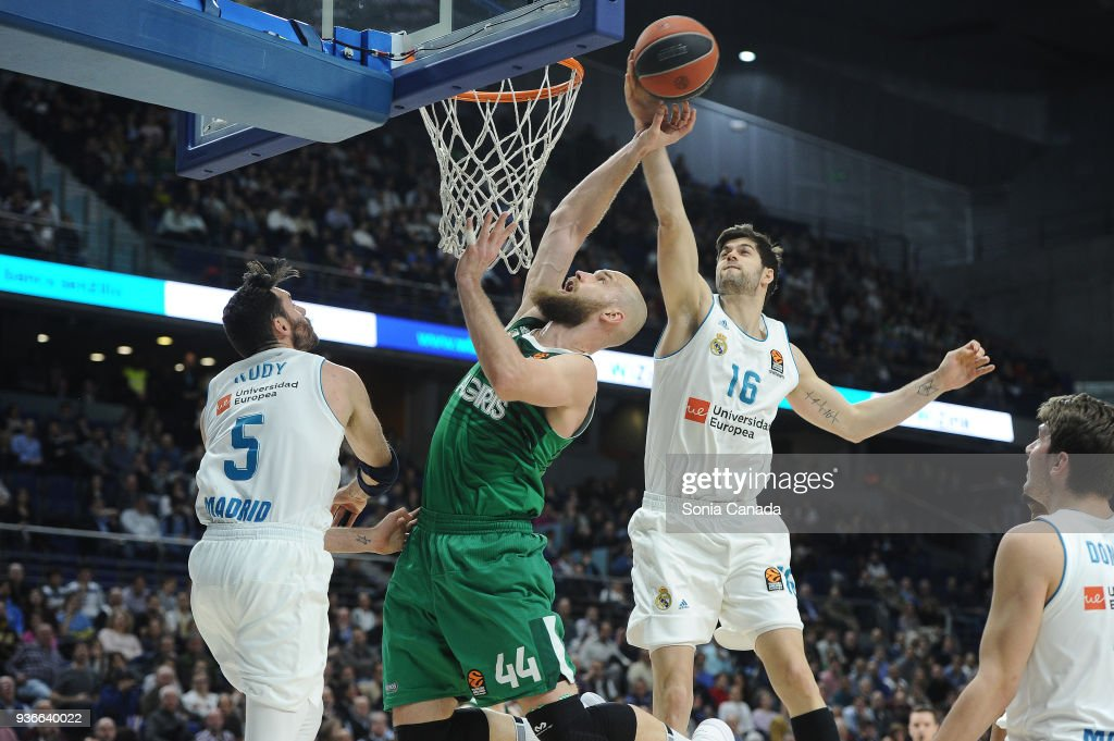 Real Madrid v Zalgiris Kaunas - Turkish Airlines EuroLeague