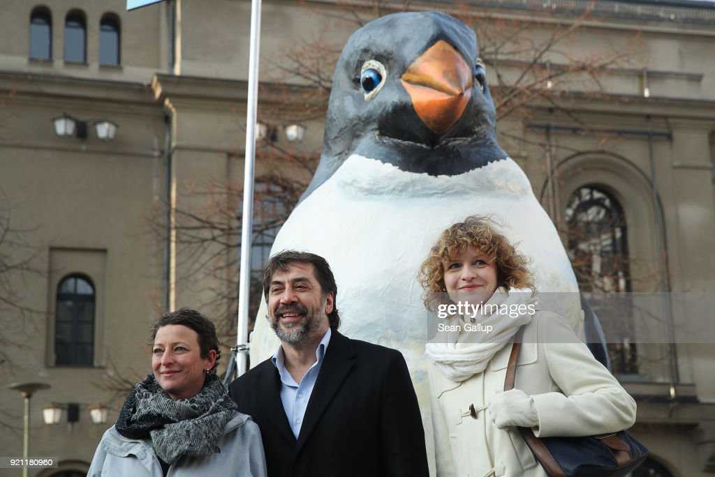 Greenpeace And Javier Bardem Present Antarctic Project Results