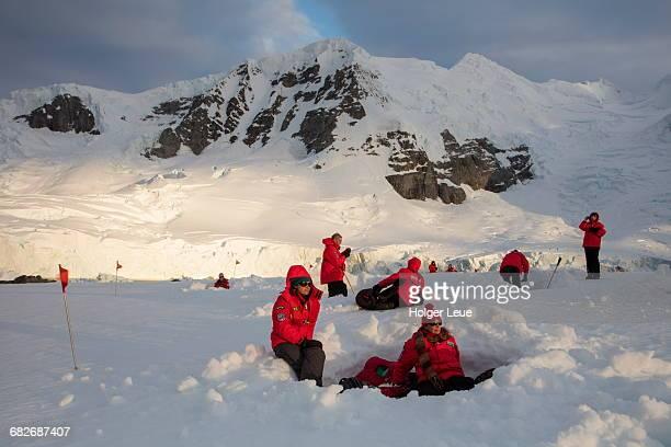 Antarctic camping for MV Sea Spirit passengers