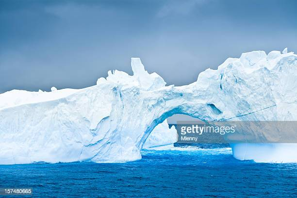 Antarctic Iceberg Natural Arch