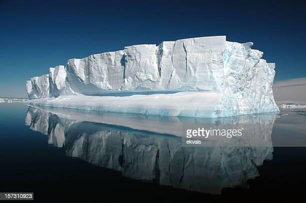 antarctic iceberg - antarctic sound stock pictures, royalty-free photos & images