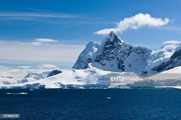 Pics de glace de l'Antarctique
