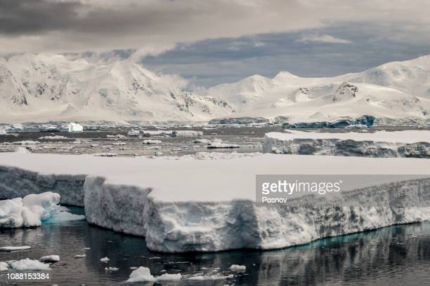 Antarctic Mountains and Sea Ice