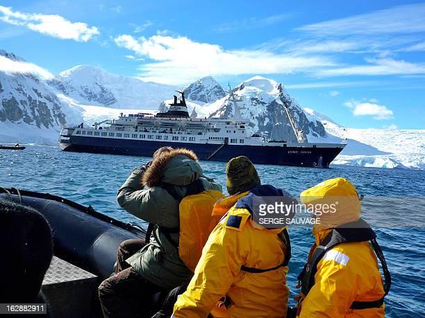 Antarctic peninsula cruise, Feb. 2010