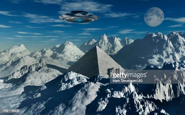 antarctic pyramid - space shuttle atlantis stock pictures, royalty-free photos & images