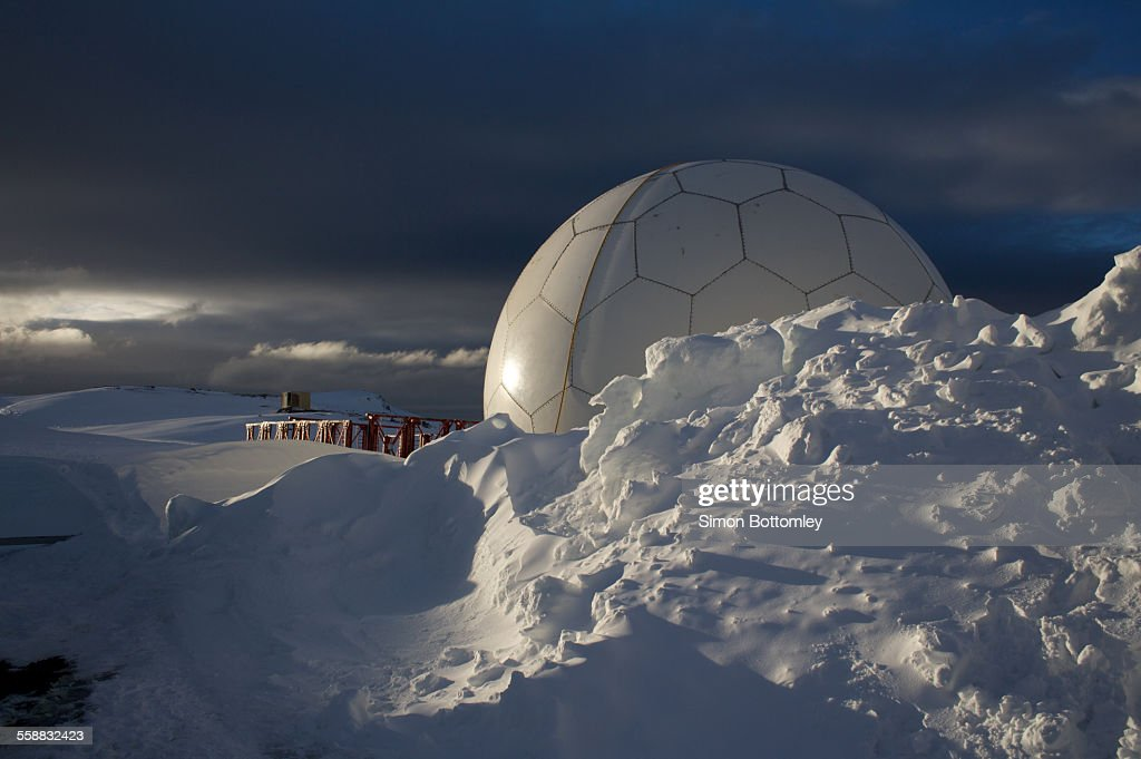 Antarctic Research Station : Stock Photo