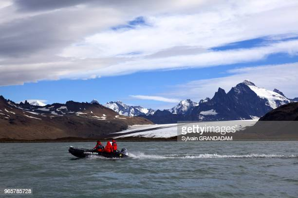Antarctica cruise on Boreal ship South Georgia island UK property glacier and iceberg
