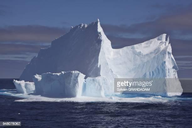 Antarctica cruise on Boreal ship under Captain Etienne Garcia autority icebergs in the Weddell Sea