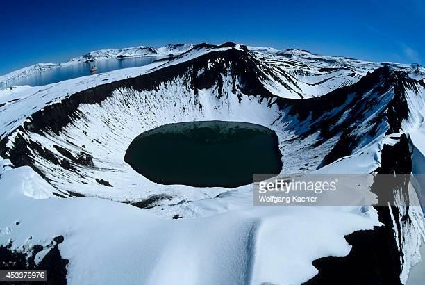 Antarctica, Deception Island, Crater.