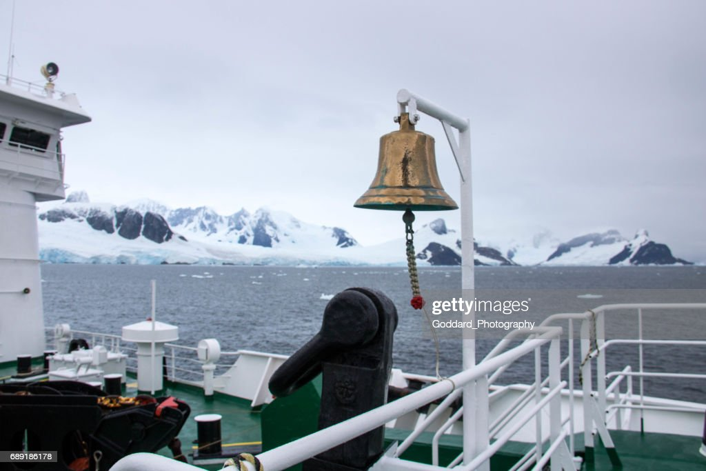 Antarctica: MS Expedition at Petermann Island : Stock Photo